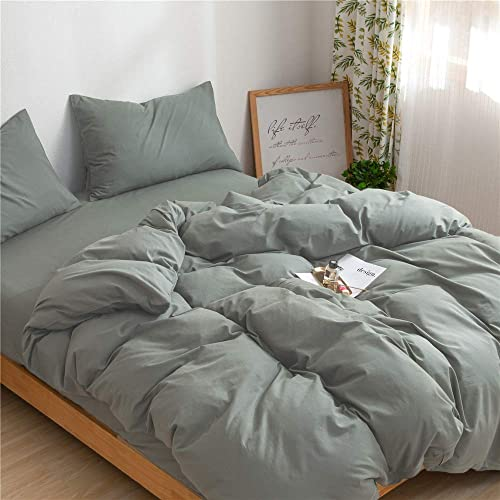 Mucalis Sage Green Duvet Cover Queen, Sage Green Bedding And Curtains