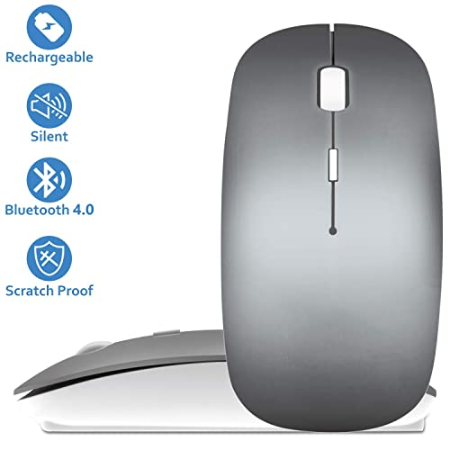 Tsmine Mini Gaming Mouse Comput... Quiet Wireless Bluetooth Mouse Rechargeable