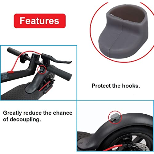 Xiaomi M365//Pro Genuine Rubber Screw Cover Cap For Rear Mudguard myBESTscooter