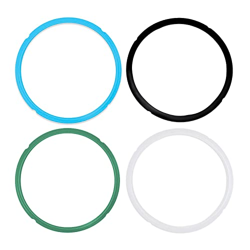 and IP-LUX BLUE IP-LUX50 Float valve and Silicon Ring Set for Instant Pot model IP-CSG60 IP-CSG50 IP-LUX60