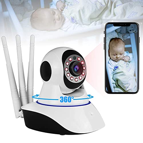 Buy Video Baby Monitor with Camera and Audio,1080P Wifi Indoor Home
