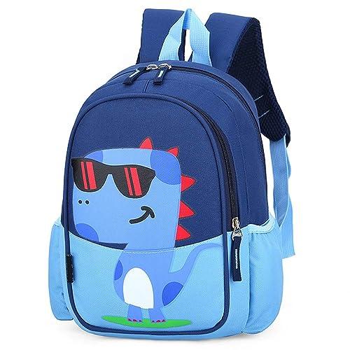 Cute Guitar Cartoon Backpack Kids Girls Preschool Small Book Bag Red Rucksack