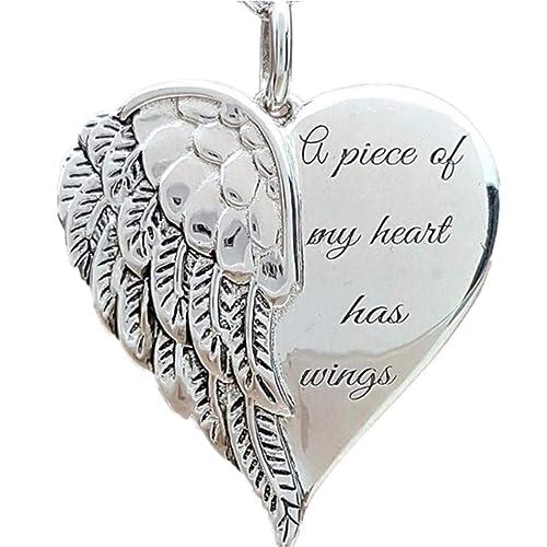 constantlife Silver Tone Waterdrop Stainless Steel Keepsake Cremation Urn Pendant Necklace Memorial Jewelry