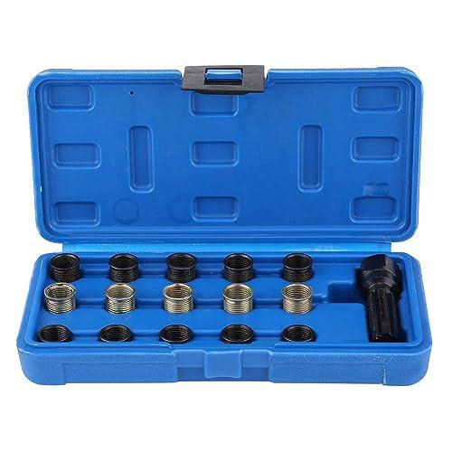M4 x 0.7mm Thread Repair Insert Kit Compatible Hand Tool Set for Auto Repairing Highking Tool Thread Repair Kit M4-0.7