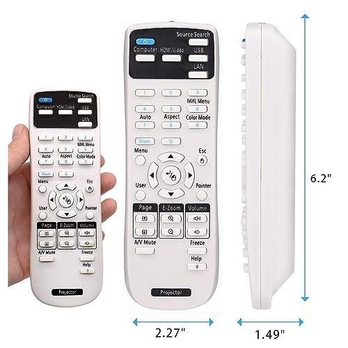 Epson 585Wi 595Wi EX3210 EX7210 EX5210 EX3212 NEW Projector Remote Control