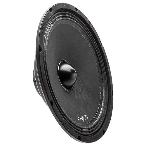 """Two Speaker Set. 1/"""" KSV Voice Coils 6.5 Inch 3-Way Coaxial Car Speaker Set TORO TECH 4 Ohm Ferro Fluid Tweeters 120 Watt MAX // 60 Watts RMS F6"""