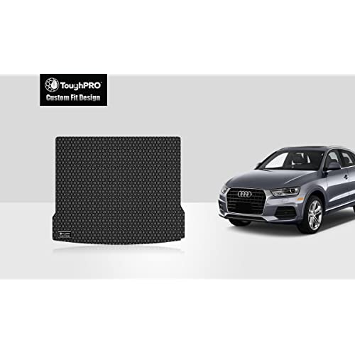 All Weather Heavy Duty Floor Mat Set Autotech Park Custom Fit Car Floor Mat for 2015-2020 Audi Q3 SUV