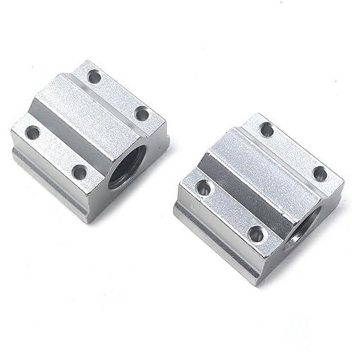 KFL002/FL002/Even Alignierend 15/mm Flange Bearing Housing Bearing Block 2/Piece Set