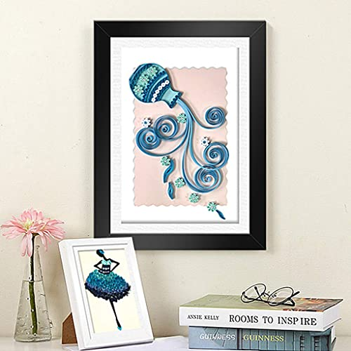 Skelang Paper Quilling Kit DIY Paper Crafts with 1440 Strips /&30 Rose Rolls /& 21 Tools /& 1 Storage Box /&6 Paper Cards Great for Home Decoration Birthday Present and Christmas Gift