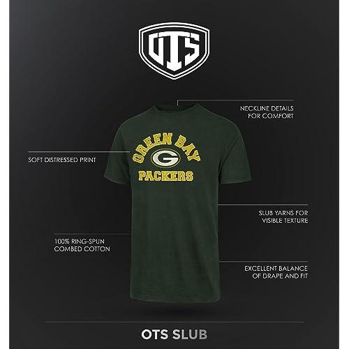 OTS NFL Mens NFL Chicago Bears Mens Slub Long Sleeve Team Name Tee