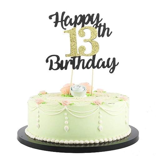 Brilliant 13Th Birthday Cake Decorations Funny Birthday Cards Online Elaedamsfinfo
