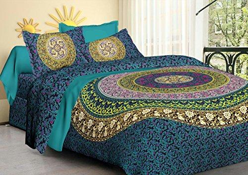 Buy Ganesham Hippie Bohemian Queen Tapestry Doona Cover Throw Blankets Bedroom Quilt Throw Mandala Bedding Cotton Bedsheet Indian Reversible Comforters Mandala King Duvet Cover Set Online In Kuwait B079z935qq