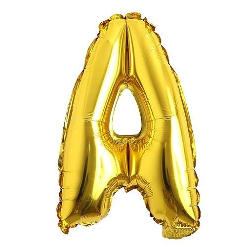 16,Letter B 16 Single Gold Letter Balloons Aluminum Hanging Foil Film Balloon Mylar balloons Air Balloon CANNOT FLOAT Rose/&Wood