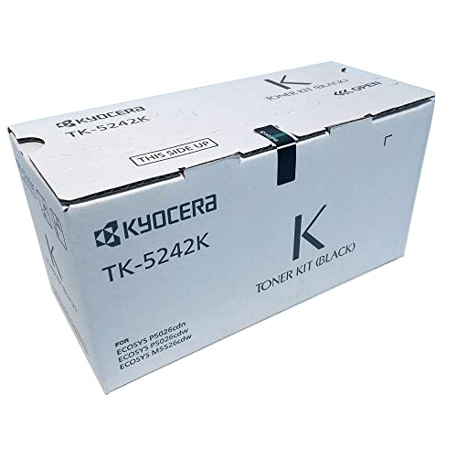 TK-5242M 1T02R7CUS0 C,M,Y,K,4 Pack TK-5242C 1T02R70US0 1T02R7AUS0 1T02R7BUS0 TK-5242K TK-5242Y USA Advantage Compatible Toner Cartridge Replacement for Kyocera Mita TK-5242