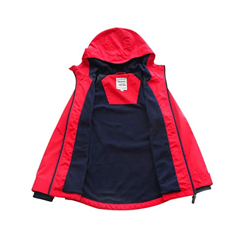 SOLOCOTE Boys Spring Waterproof Jackets Performance and Fashion Design Tough and Light Fabric 3-14Y