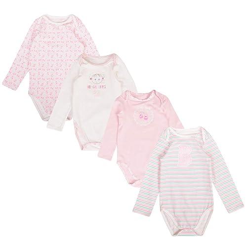 Baby Boys Girls 5 Pack Bodysuits EX UK Store Cotton Vests 3-36M Sleeveless New