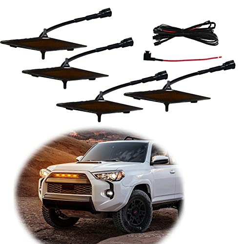 Side Door Handle Cover Trim With Smartkey Hole For Toyota 4Runner N280 2010-2019