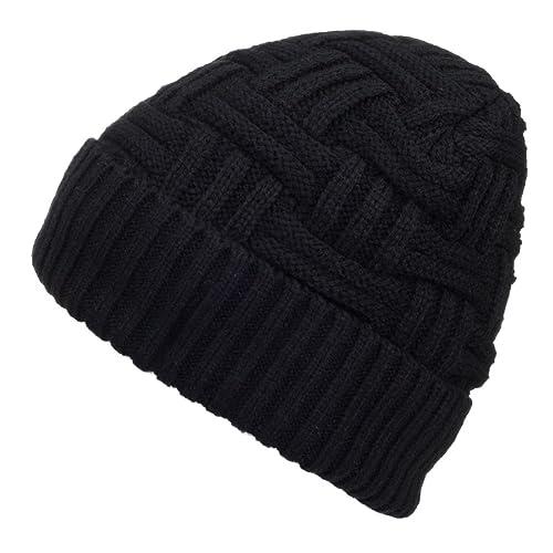 fe5a51437163 Buy Spikerking Mens Winter Knitting Wool Warm Hat Daily Slouchy Hats Beanie  Skull Cap with Ubuy Kuwait. B01MY96MI9