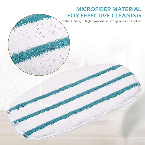 Kleanman 7 Packs Dirt Grip Microfiber Pads Replacement for Shark Steam Mop S1000 S1000A S1000C S1000WM S1001C