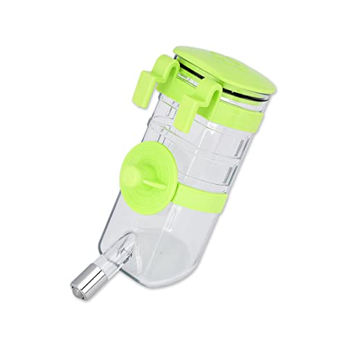 Ogquaton Plastic Travel Water Fountain Drinking Bottle Small Animal Parrot Hamster Rabbit Practical and Popular