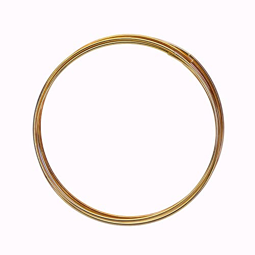 eBoot 5 Pack Gold Metal Rings Hoops Macrame for Dream Catcher and Crafts 5 Inch