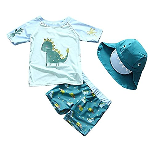 Sun Protection All in One with Zipper Swimwear with Sun Hat Baby Boys Sunsuit UPF 50 Captain,12-18Months