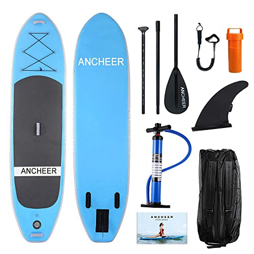 Buy ANCHEER Inflatable Stand Up Paddle Board 10' with Non-Slip Deck