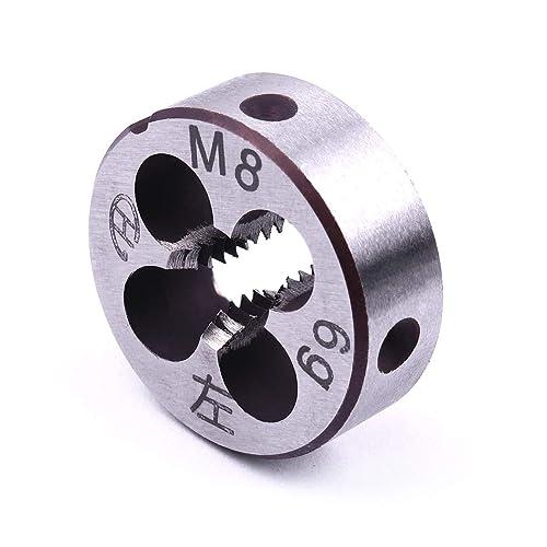 Atoplee 11pcs Metric Die Wrench Set Left Hand Thread Hand Machine M3-M20