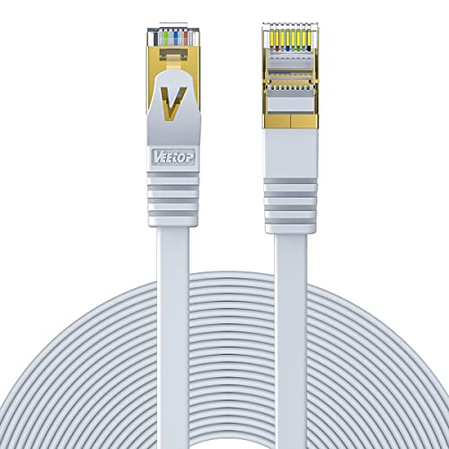 Ethernet Cable 49ft CAT7 Cat 7 Cables LAN Network RJ45 High Speed Patch Cord
