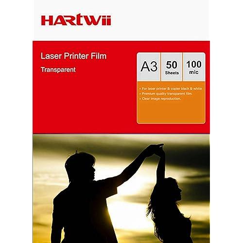 100 Print A4 135Mic Laser OHP Film Acetate Mono Colour