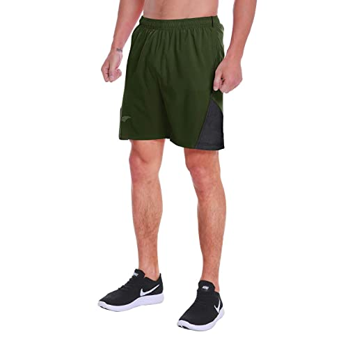 JINSHI Mens 7 Athletic Gym Shorts Quick Dry Lightweight for Running Training Workout