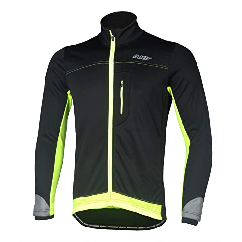 Breathable and Reflective Windproof Bpbtti Men/'s Softshell Cycling Thermal Jacket Windbreaker Coat for Winter