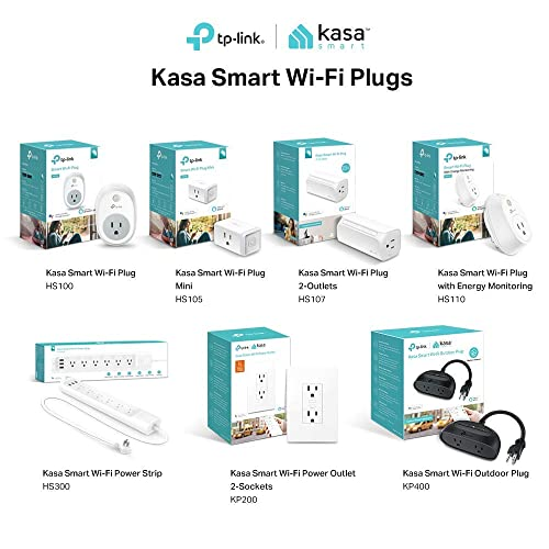 Buy Kasa Smart WiFi Plug Mini by TP-Link - Reliable WiFi