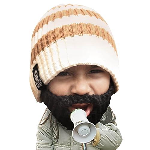 c6431665a Buy Beard Head Kid Scruggler Beard Beanie -Knit Hat and Fake Beard ...