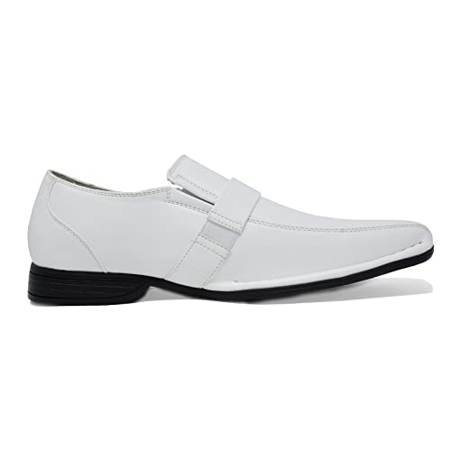 8624fee2fd75 Buy Bruno Marc Men's Giorgio Leather Lined Dress Loafers Shoes with ...