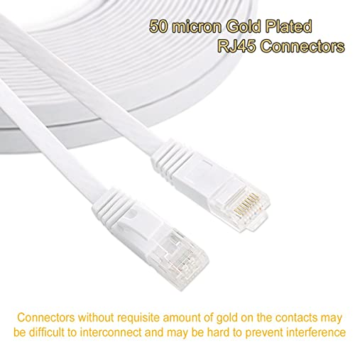 2X CAT5 RJ45 Ethernet LAN Network Patch Cable For PS XBox Internet Router 5FT