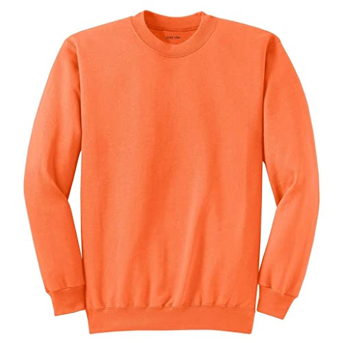 Joes USA Youth Soft and Cozy Crewneck Sweatshirts in 22 Colors Sizes Youth XS-XL