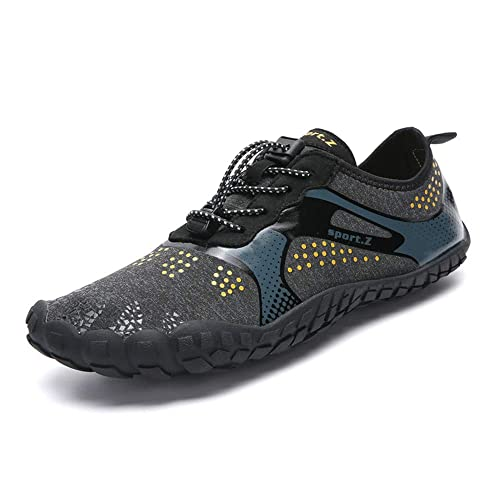 abce8ce5cbb Ginjang Men Women Water Shoes Barefoot Quick Dry for Yoga Swim Diving Surf  Aqua Sports Beach