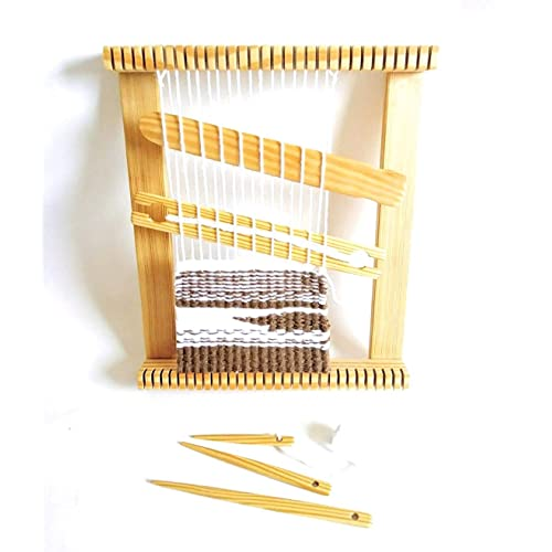 12 inches wide X 12 inches long Weaving loom kit Lap Loom,Frame Loom