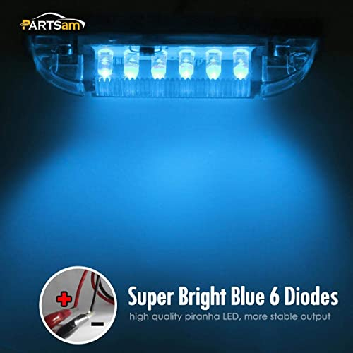 Marine//Boat Slim Line Blue Waterproof LED Utility Strip Light 12 Bulb