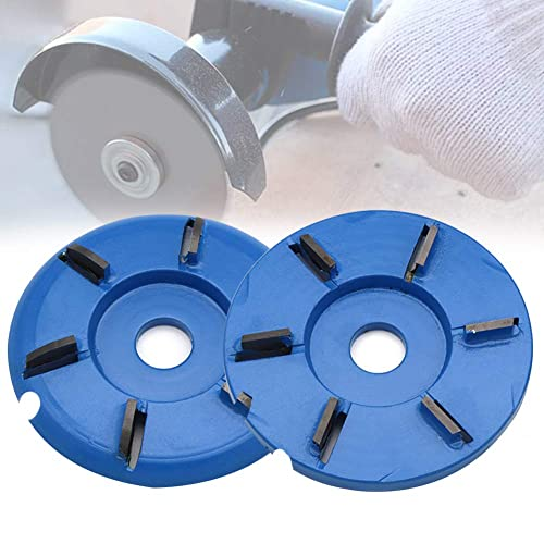 Sanding Carving Abrasive Disc Shaping Tool for Grinder Weoto Wood Carving Disc Wood Angle Grinding Wheel