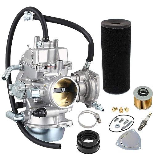 labwork Carburetor Fit for Yamaha Grizzly 600 660 YFM600 YFM660 ATV and Intake Manifold Boot