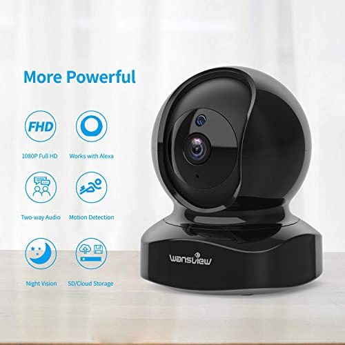 Buy Wireless Security Camera, IP Camera 1080P HD Wansview, WiFi Home