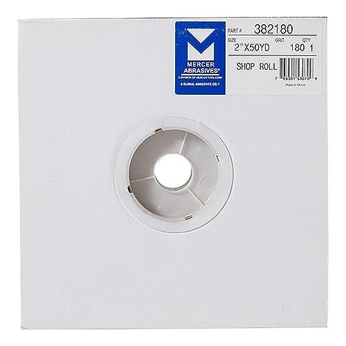 Grit 40x 8 x 25 yd 8 x 25 yd Mercer Industries 464040 Ceramic Floor Sanding Roll 40X-Grit