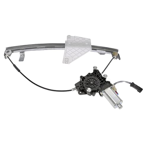 Left Audrfi Rear Driver Side Window Regulator with Motor for 01-04 Jeep Grand Cherokee