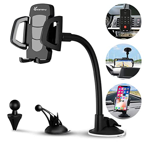 22244e9f689dc8 Buy Car Phone Mount, Vansky 3-in-1 Universal Cell Phone Holder Car ...