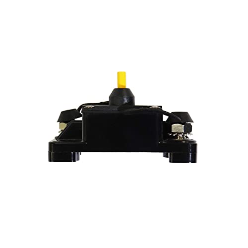STETION 200 Amp Circuit Breaker Trolling with Manual Reset Car Marine Trolling Motors Boat ATV Manual Power Protect for Audio System Fuse 12V-48VDC Waterproof /… 200Amp