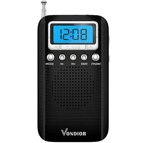 Am Fm Digital Portable Pocket Radio