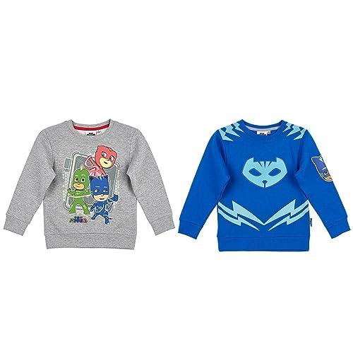 Pj Masks Girls Long Sleeve 100/% Cotton Top T-Shirt Cotton Owlette Jumper 2-8 Yrs