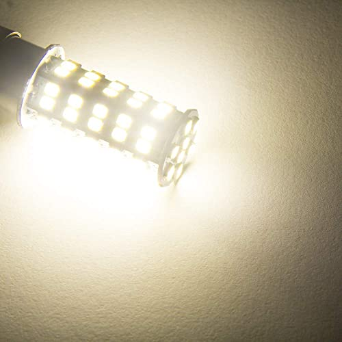 4000K-4500K Color Temputure GRB 20 Pcs Extremely Super Bright 1156 1141 1003 BA15S 68-SMD LED Replacement Light Bulbs for RV Indoor Lights 20-Pack, Natural White